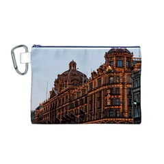 Store Harrods London Canvas Cosmetic Bag (M)