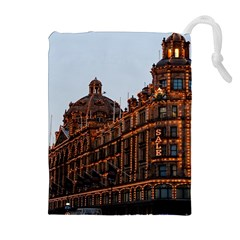 Store Harrods London Drawstring Pouches (Extra Large)