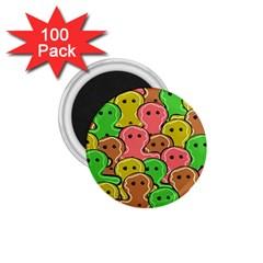 Sweet Dessert Food Gingerbread Men 1.75  Magnets (100 pack)