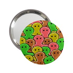 Sweet Dessert Food Gingerbread Men 2 25  Handbag Mirrors