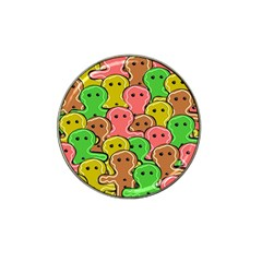 Sweet Dessert Food Gingerbread Men Hat Clip Ball Marker (4 Pack)