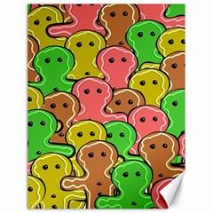 Sweet Dessert Food Gingerbread Men Canvas 18  x 24