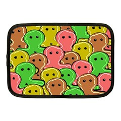Sweet Dessert Food Gingerbread Men Netbook Case (Medium)