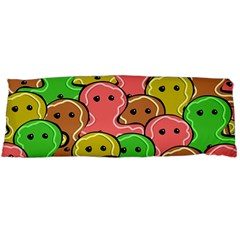 Sweet Dessert Food Gingerbread Men Body Pillow Case Dakimakura (Two Sides)
