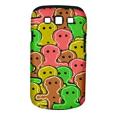 Sweet Dessert Food Gingerbread Men Samsung Galaxy S III Classic Hardshell Case (PC+Silicone)