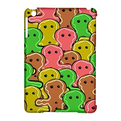 Sweet Dessert Food Gingerbread Men Apple Ipad Mini Hardshell Case (compatible With Smart Cover)