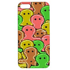 Sweet Dessert Food Gingerbread Men Apple Iphone 5 Hardshell Case With Stand