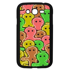 Sweet Dessert Food Gingerbread Men Samsung Galaxy Grand Duos I9082 Case (black)