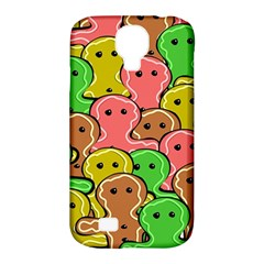 Sweet Dessert Food Gingerbread Men Samsung Galaxy S4 Classic Hardshell Case (pc+silicone)