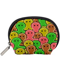 Sweet Dessert Food Gingerbread Men Accessory Pouches (Small)