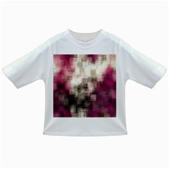 Stylized Rose Pattern Paper, Cream And Black Infant/Toddler T-Shirts