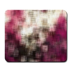 Stylized Rose Pattern Paper, Cream And Black Large Mousepads