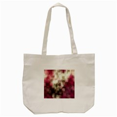 Stylized Rose Pattern Paper, Cream And Black Tote Bag (Cream)