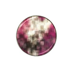 Stylized Rose Pattern Paper, Cream And Black Hat Clip Ball Marker (10 Pack)