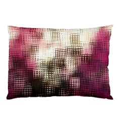 Stylized Rose Pattern Paper, Cream And Black Pillow Case (two Sides)