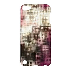 Stylized Rose Pattern Paper, Cream And Black Apple iPod Touch 5 Hardshell Case