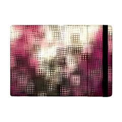 Stylized Rose Pattern Paper, Cream And Black Apple Ipad Mini Flip Case