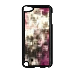 Stylized Rose Pattern Paper, Cream And Black Apple Ipod Touch 5 Case (black)