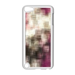Stylized Rose Pattern Paper, Cream And Black Apple Ipod Touch 5 Case (white)