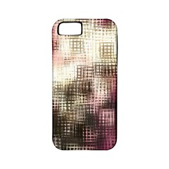 Stylized Rose Pattern Paper, Cream And Black Apple iPhone 5 Classic Hardshell Case (PC+Silicone)