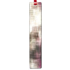 Stylized Rose Pattern Paper, Cream And Black Large Book Marks
