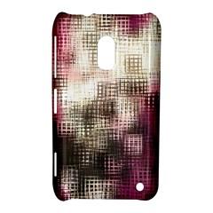 Stylized Rose Pattern Paper, Cream And Black Nokia Lumia 620