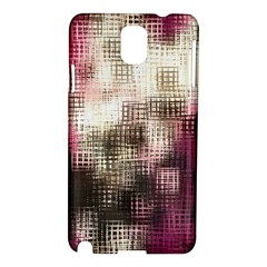 Stylized Rose Pattern Paper, Cream And Black Samsung Galaxy Note 3 N9005 Hardshell Case