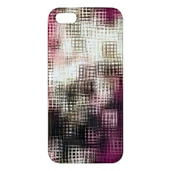 Stylized Rose Pattern Paper, Cream And Black Iphone 5s/ Se Premium Hardshell Case