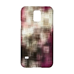 Stylized Rose Pattern Paper, Cream And Black Samsung Galaxy S5 Hardshell Case