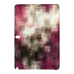 Stylized Rose Pattern Paper, Cream And Black Samsung Galaxy Tab Pro 12 2 Hardshell Case