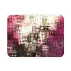 Stylized Rose Pattern Paper, Cream And Black Double Sided Flano Blanket (Mini)