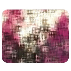 Stylized Rose Pattern Paper, Cream And Black Double Sided Flano Blanket (Medium)