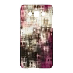 Stylized Rose Pattern Paper, Cream And Black Samsung Galaxy A5 Hardshell Case