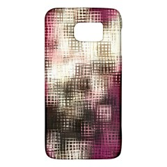 Stylized Rose Pattern Paper, Cream And Black Galaxy S6
