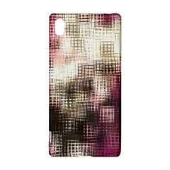 Stylized Rose Pattern Paper, Cream And Black Sony Xperia Z3+