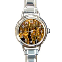 Sylvester New Year S Eve Round Italian Charm Watch