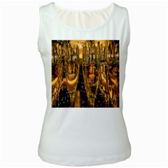 Sylvester New Year S Eve Women s White Tank Top