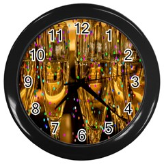Sylvester New Year S Eve Wall Clocks (Black)