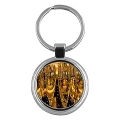 Sylvester New Year S Eve Key Chains (Round)
