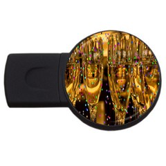 Sylvester New Year S Eve USB Flash Drive Round (2 GB)