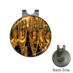Sylvester New Year S Eve Hat Clips with Golf Markers