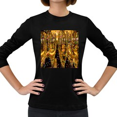 Sylvester New Year S Eve Women s Long Sleeve Dark T Shirts