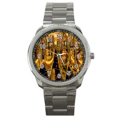 Sylvester New Year S Eve Sport Metal Watch