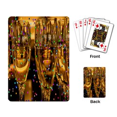 Sylvester New Year S Eve Playing Card