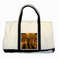 Sylvester New Year S Eve Two Tone Tote Bag