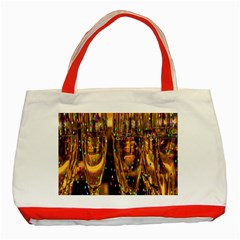 Sylvester New Year S Eve Classic Tote Bag (red)