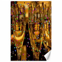 Sylvester New Year S Eve Canvas 12  x 18