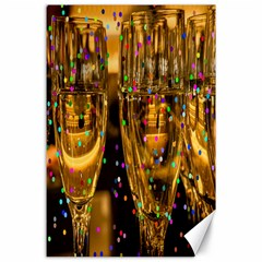 Sylvester New Year S Eve Canvas 24  x 36