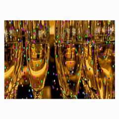 Sylvester New Year S Eve Large Glasses Cloth (2 Side)