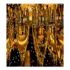 Sylvester New Year S Eve Shower Curtain 66  x 72  (Large)